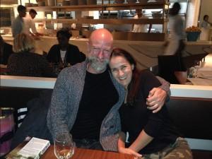 w/ dear friend Graham McTavish, having dinner in NYC