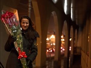 Extreme long-stemmed roses, Vologda