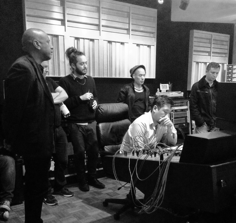 Billy Drummond, Adam Platt, Yotam Silberstein, Dana Leong, Yasushi Nakamura and Max Ross.
