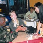 w/ Jon and Delesa Lucien at my gig at Sweet Rhythm, 2007