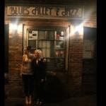 w/ Ellen Ward outside Blues Alley