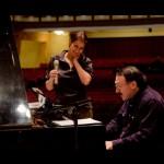 Rehearsing with Daniel Kramer, Omsk Philharmonic