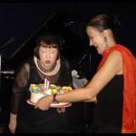 w/ Sheila Jordan at her 77th Birthday party at Sweet Rhythm
