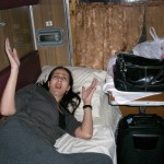 Traveling across Siberia, 2008