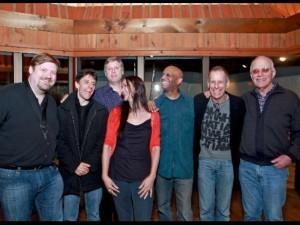 w/ my beyond the Blue band, Joel Frahm, Gary Versace, David Finck, Billy Drummond, Joe Locke and Steve Kuhn at Avatar Studio, NYC