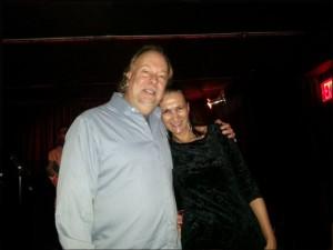 w/ Brad Stone at Zinc Bar, January 2014