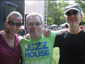 w/ Ed Palermo and Bob Devos at Montclair Jazz Festival