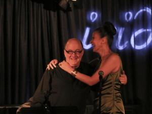 w/ Lew Soloff at my gig at the Iridium Jazz Club, 2014