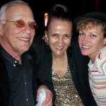 w/ Steve Kuhn and Katherine Miller at Steve's gig at the Jazz Standard, New York