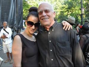 w/ Steve Kuhn at Charlie Parker Festival, 2013