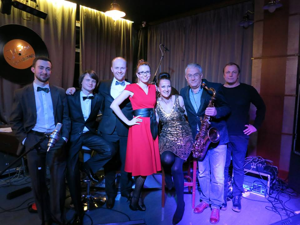 Kirill Kirpitchov, Alexandr Bulatov,  Anton, Mary, me Vlad Leibov, and Max, the promoter