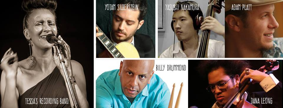 Picture of me by Walter Wagner. Yotam Silberstein (guitars and oud), Yasushi Nakamura (bass), Adam Platt (piano), Billy Drummond (drums), Dana Leong (cello)