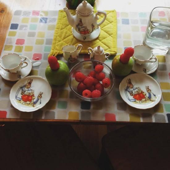 Jasmin's little tea set