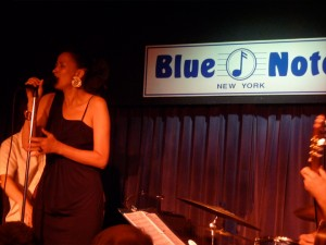 w/ Obsession band at Blue Note, 2009