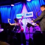 w/ Will Holshouser, Joel Frahm, Blue Note, 2012