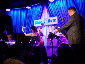 w/ Will Holshouser, Joel Frahm, Blue Note, 2012