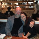w/ dear friend Graham McTavish, having dinner in NYC