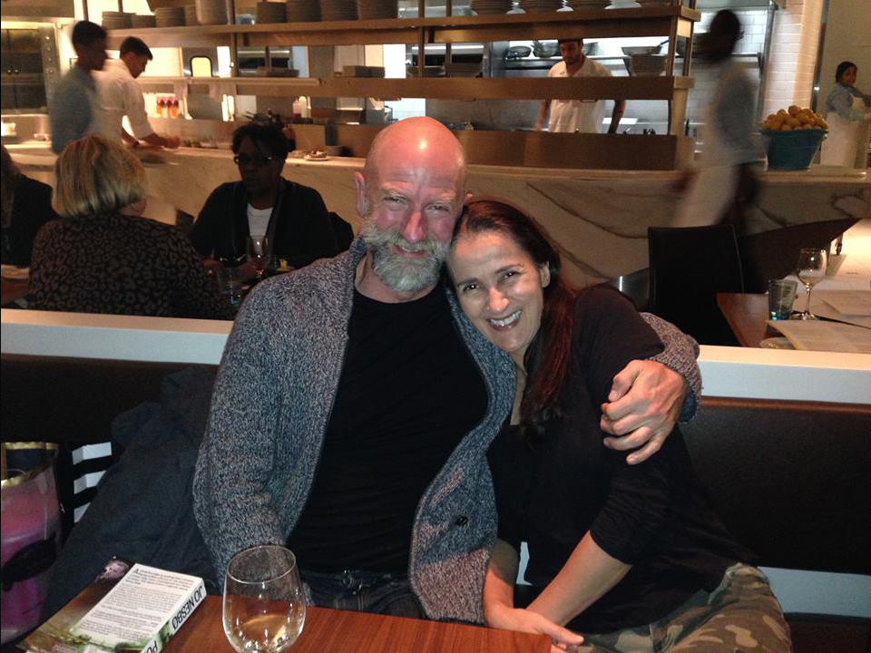 Dinner in NYC with dear friend Graham McTavish