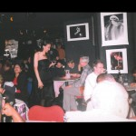 In the crowd at Pizza Express Jazz Club