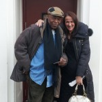 w/ Rob Crocker outside WBGO after my interview with Michael Bourne on Singer's Unlimited