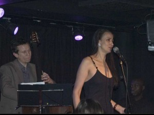 w/ Sam Burgess and Winston Clifford at Ronnie Scott's, 2005