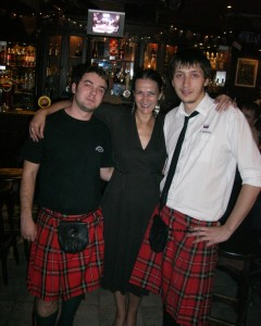 """w/ two """"celts"""" in Scottish pub in the Urals, 2008"""