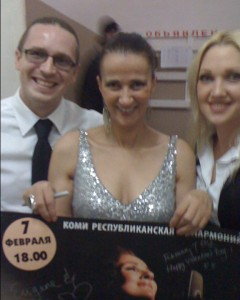Signing posters, Russia, 2012