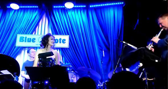 Tessa Souter Blue Note 4, June 2012