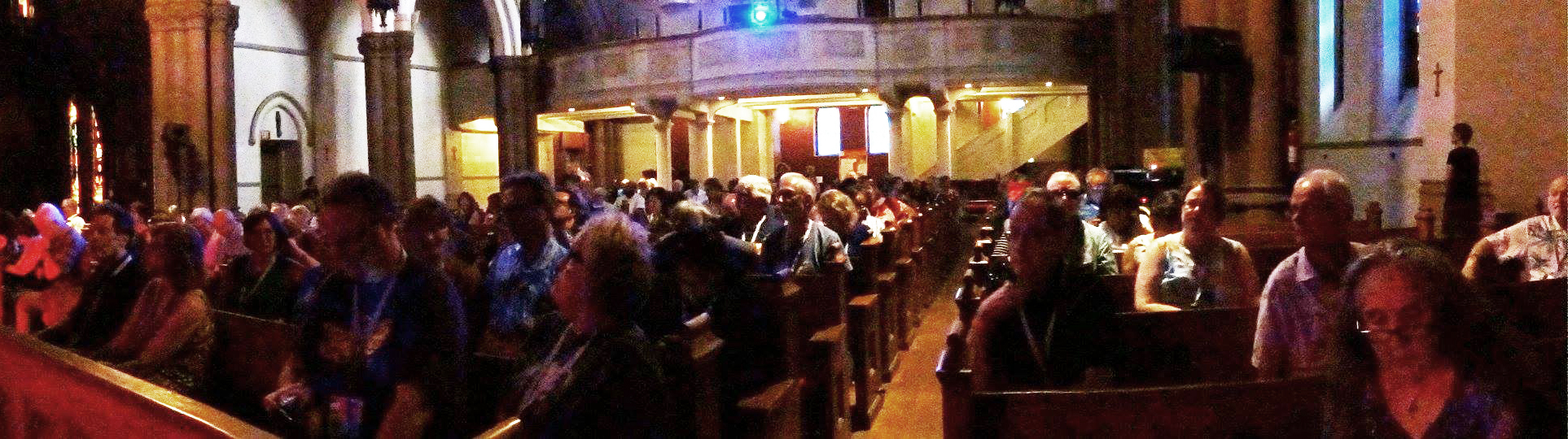 audience at christ church
