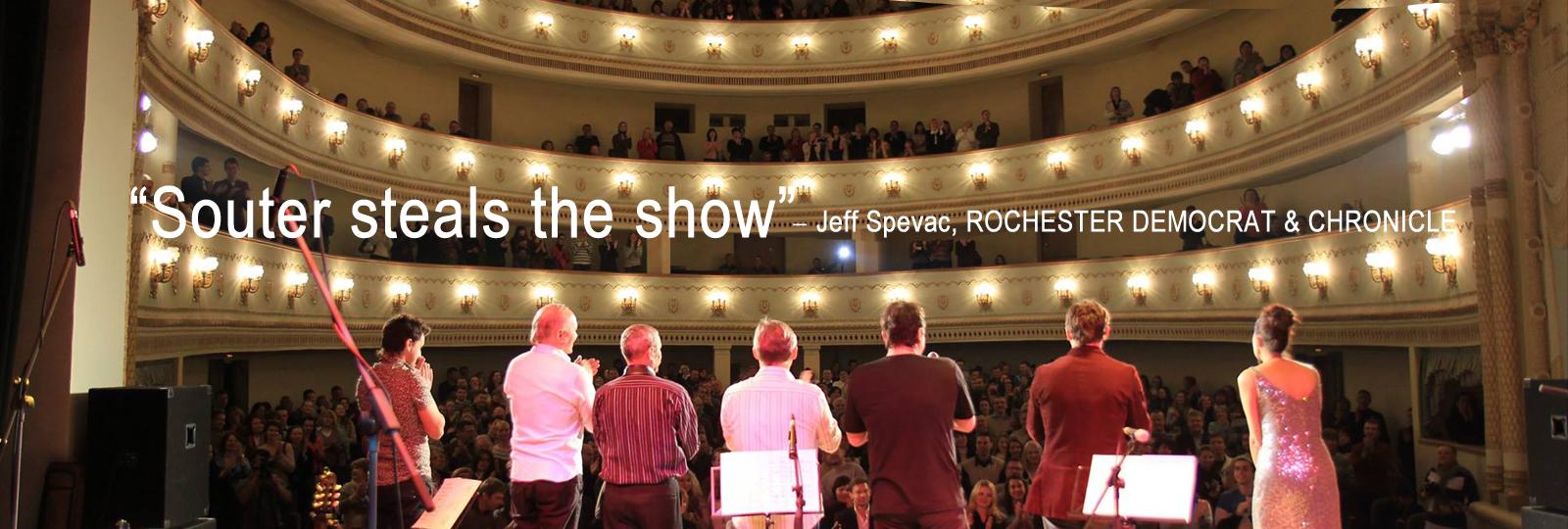 live reviews show