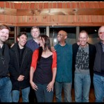 w/ my beyond the Blue band, Joel Frahm, Gary Versace, David Finck, Billy Drummond, Joe Locke and Steve Kuhn at Avatar Studio, NYC