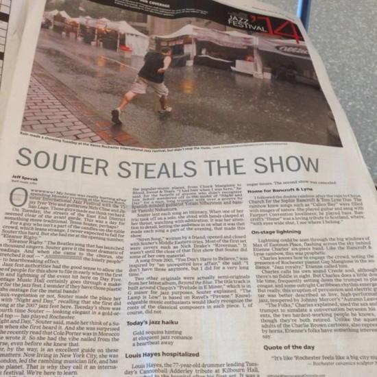 rochester crazy headline from rochester jazz fest