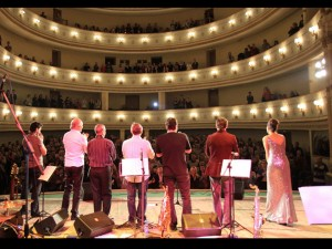 w/ Apple Tea Jazz Band at Palace of Trade Unions, Minsk, Belarus, 2012