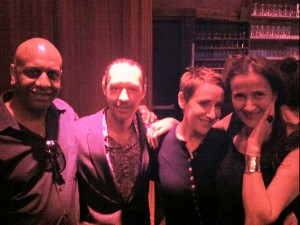 w/ Billy Drummond, Jim Tomlinson and Stacey Kent at Birdland