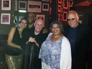 w/ Billy Drummond, Steve Swallow, Sheila Anderson and Steve Kuhn at Birdland