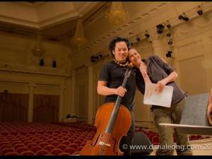 w/ Dana Leong rehearsing at Ekaterinburg Phil.