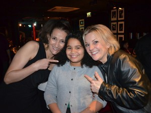 w/ Delilah Rose Bravo Correa and Claire Martin after my gig at Pizza Express, 2013