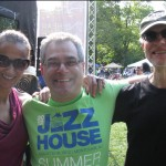 w/ Ed Palermo and Bob Devos at Montclair Jazz Festival