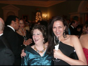 w/ Judi Silvano at Kennedy Center Honors