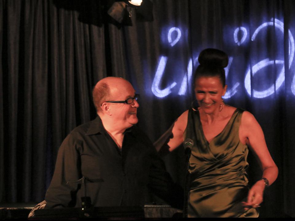 w/ Lew Soloff at iridium, 2014