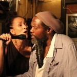 w/ Mansur Scott sitting in on my gig at 55 Bar