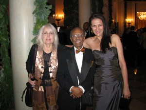 w/ Mona and Jimmy Heath at Kennedy Center Honors, 2011