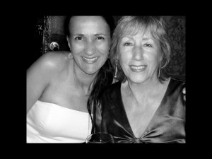 w/ Norma Winstone after her gig at Joe's Pub, 2004