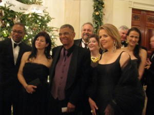 w/ Renee Fleming et al at Kennedy Center Honors, 2011