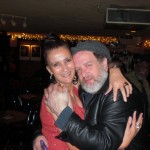 w/ Saul Rubin after my 55 Bar gig