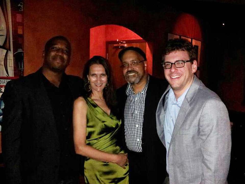 w my band at jazz kitchen indianapolis zach lapidus frank smith and kenny phelps - Jazz Kitchen Indianapolis
